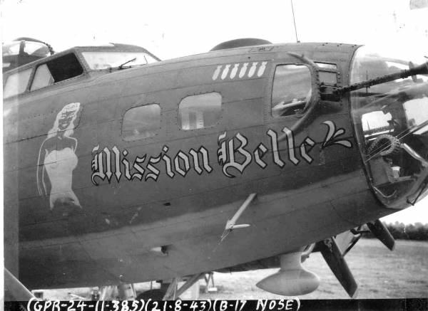 B-17 #42-30197 / Mission Belle
