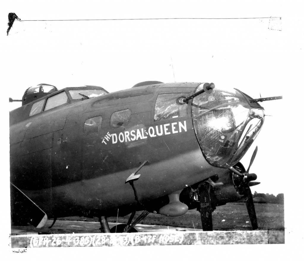 B-17 #42-30264 / Dorsal Queen