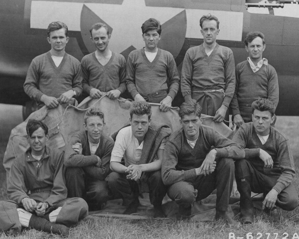 42-3043 / Hitler's Gremlin Lockhart Crew on 18 August 1943