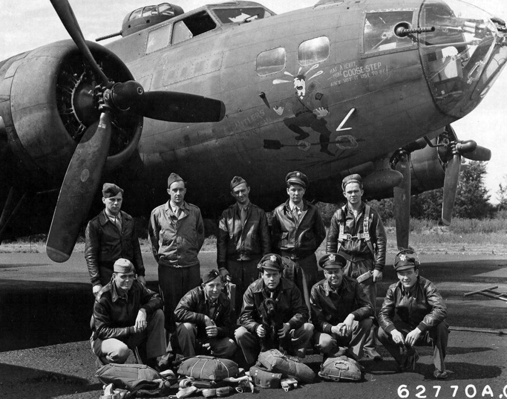 42-3043 / Hitler's Gremlin Lockhart Crew on 15 August 1943