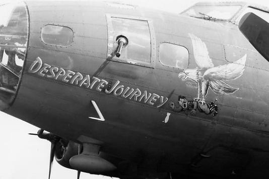 B-17 #42-3053 / Desperate Journey