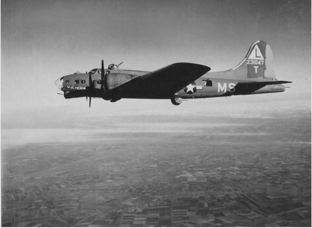 B-17 #42-31047 / Little Duchess aka Wolverine