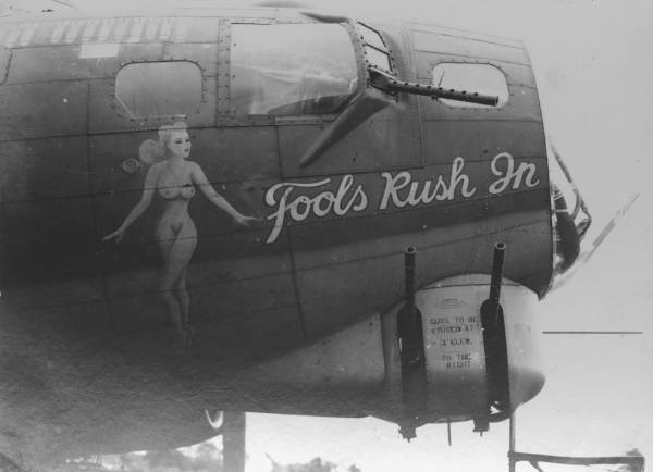 B-17 #42-31066 / Dixie Baby aka Fools Rush In
