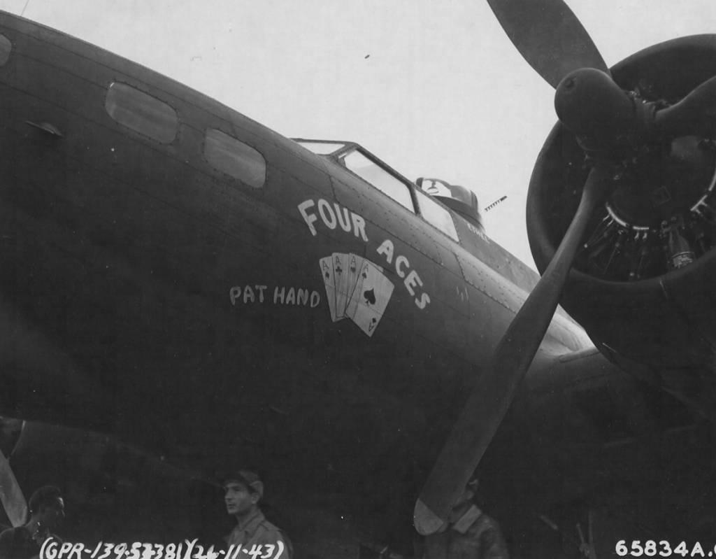 B-17 #42-31111 / Four Aces, Pat Hand