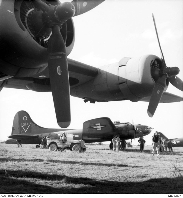 B-17 #42-3147 / Homesick Angel