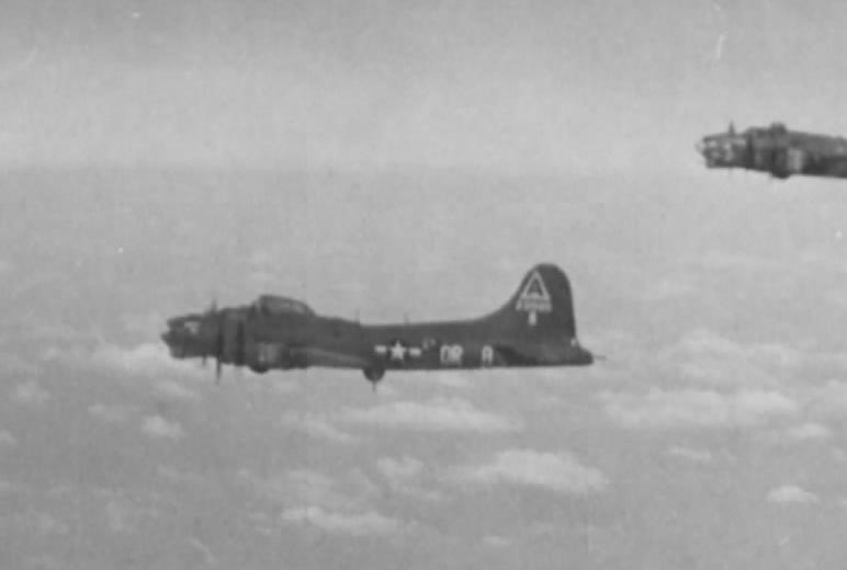 B-17 #42-31580 / Merry Widow