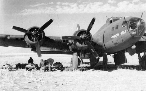 B-17 #42-3290 / Raunchy Wolf aka El Lobo