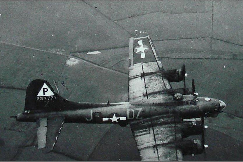 B-17 #42-37727 'Elise'