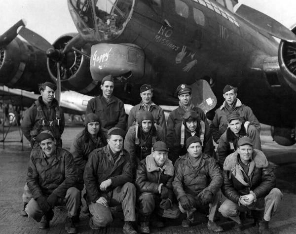 B-17 #42-40003 / Topper aka Ol' Gappy