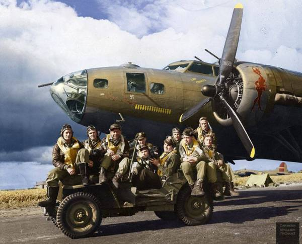 B-17 #42-5069 / Our Gang