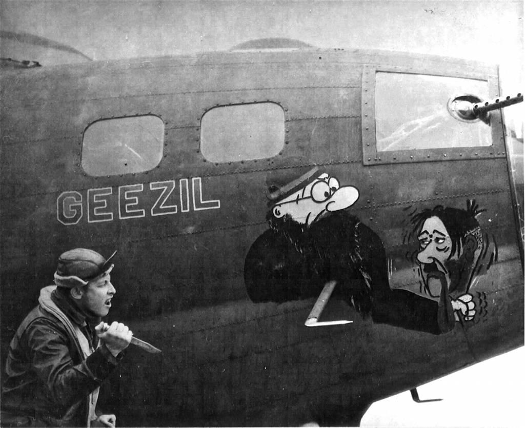 B-17 #42-5404 / Geezil