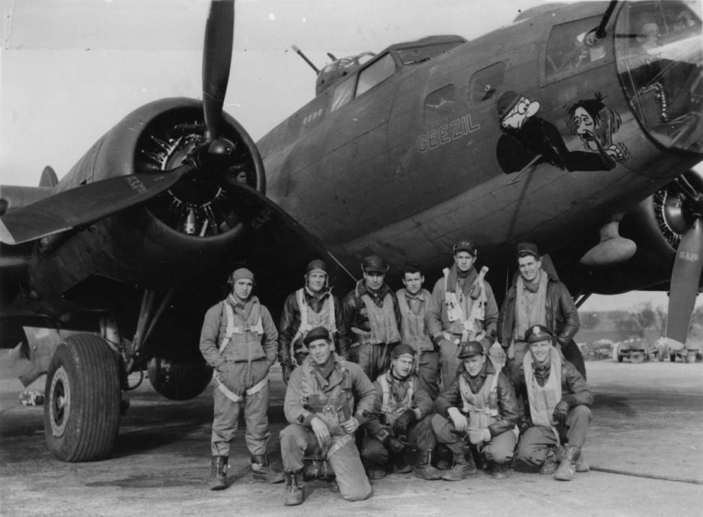 B-17 #42-5404 'Geezil'