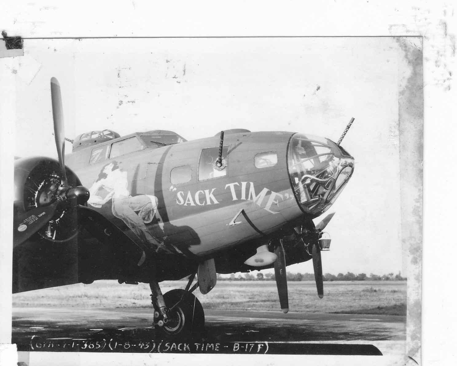 B-17 #42-5914 / Sack Time aka Roger Wilco