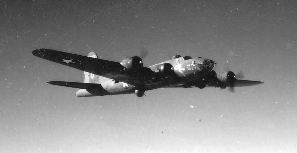 B-17 #42-5914 sack time