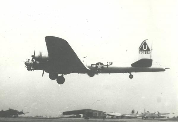 B-17 #42-97552 / The Road Back
