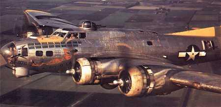 B-17 #42-97976 Louie the Creep aka A Bit o' Lace
