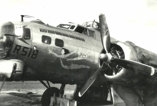 B-17 #43-37518 / Gini