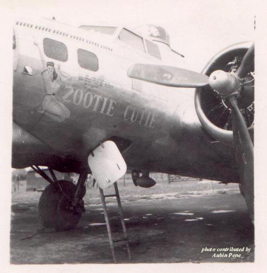 B-17 #43-37610 / Zootie Cutie