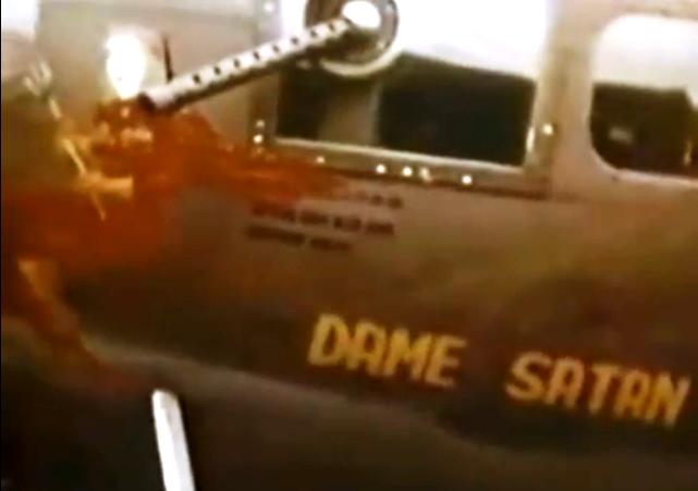 B-17 #42-2990 'Dame Satan'