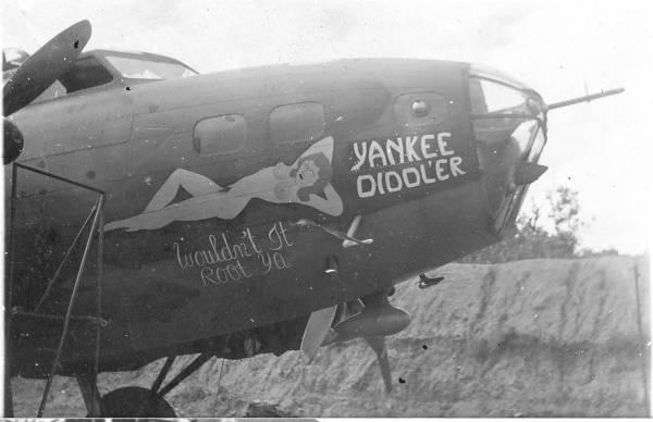 B-17 #41-2458 / Yankee Diddl'er