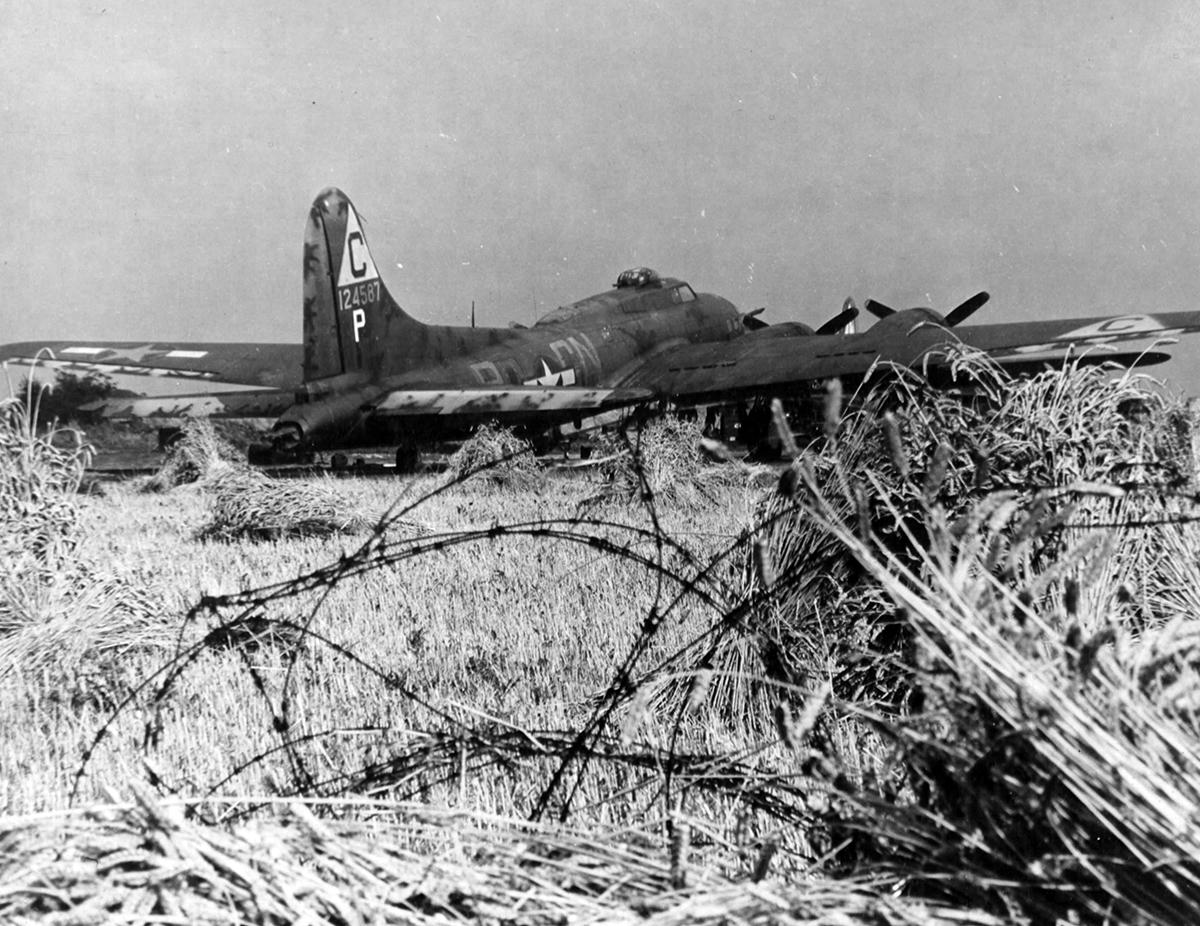 B-17 #41-24587 / Bad Check