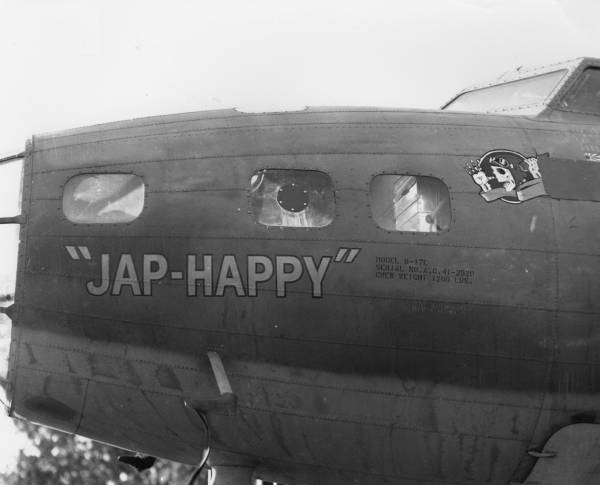 B-17 #41-2520 / Jap-Happy