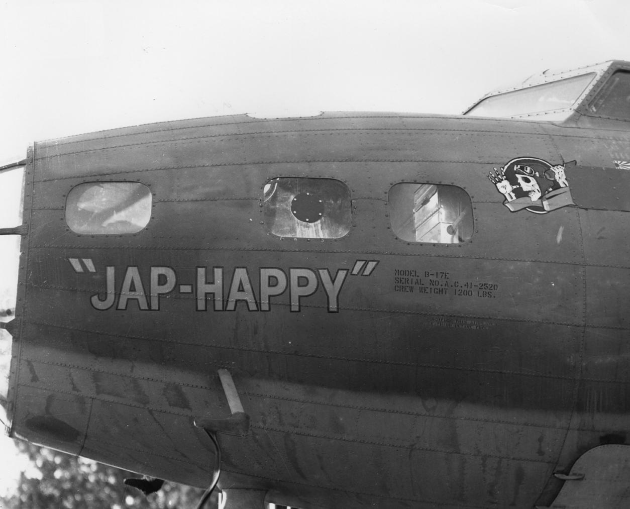 B-17 #41-2520 / Jap-Happy