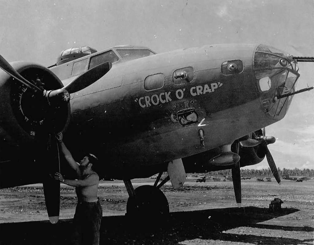 B-17 #41-2632 / Crock O' Crap