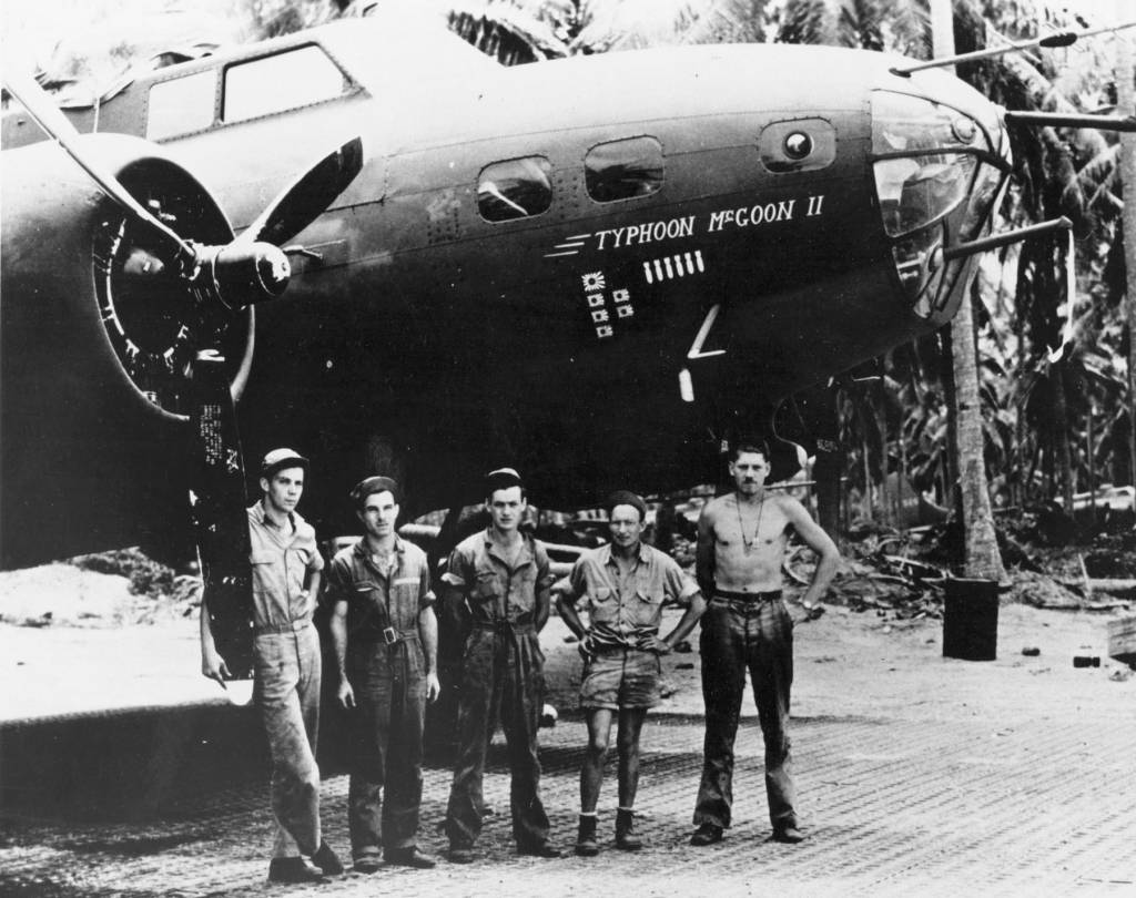 B-17 #41-9211 / Typhoon McGoon II