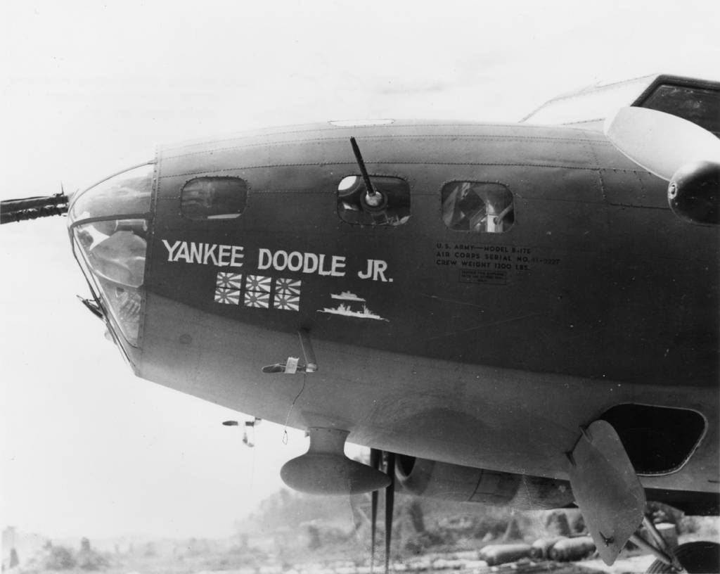 B-17 #41-9227 / Yankee Doodle Jr.