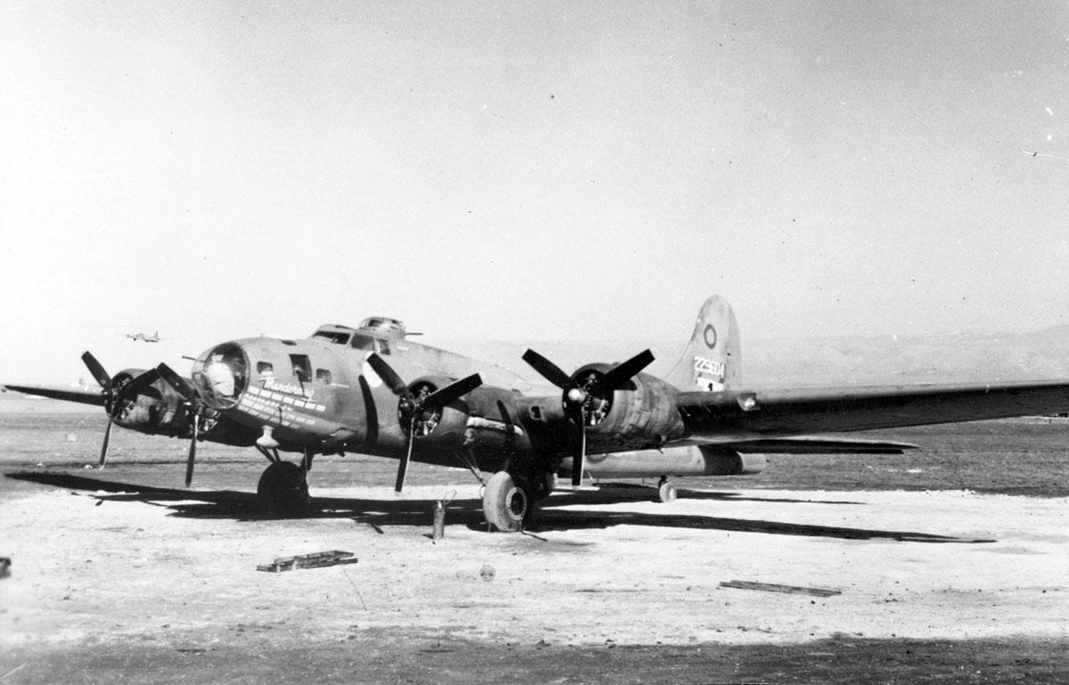 B-17 #42-29604 / Thundermug