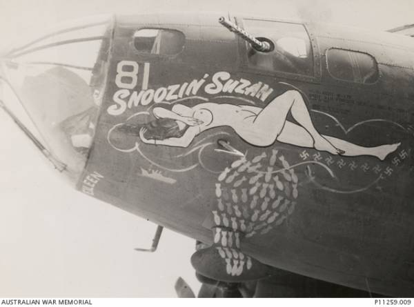 B-17 #42-2981 / Snoozin' Susan