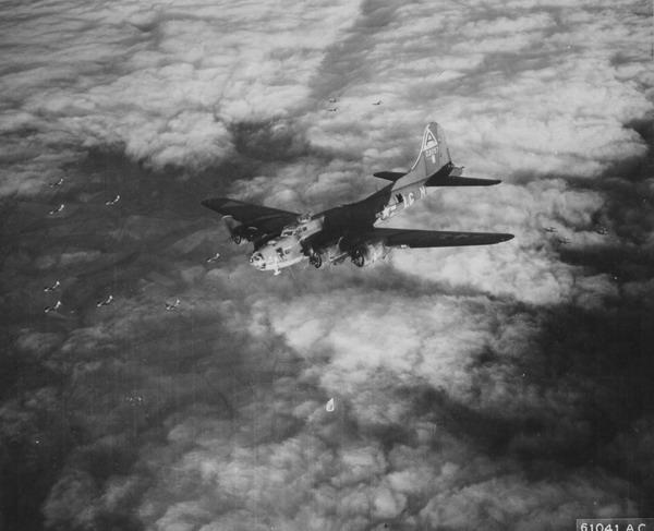 B-17 #42-3057 Picadilly Commando aka Blonde Bomber