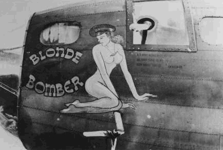B-17 #42-3057 / Picadilly Commando aka Blonde Bomber