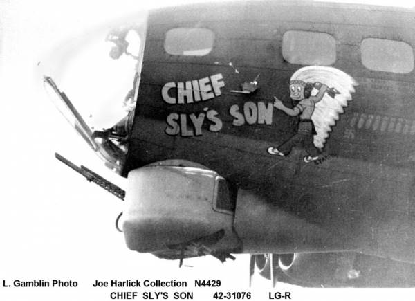 B-17 #42-31076 / Chief Sly's Son