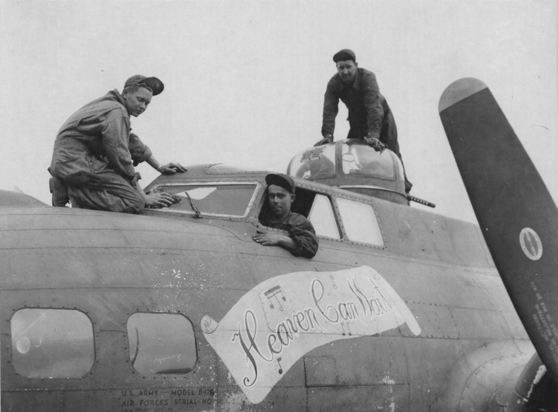 B-17 #42-31087 / Boche Buster aka Heaven Can Wait