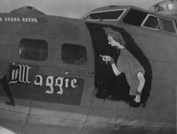B-17 #42-31091 / Maggie