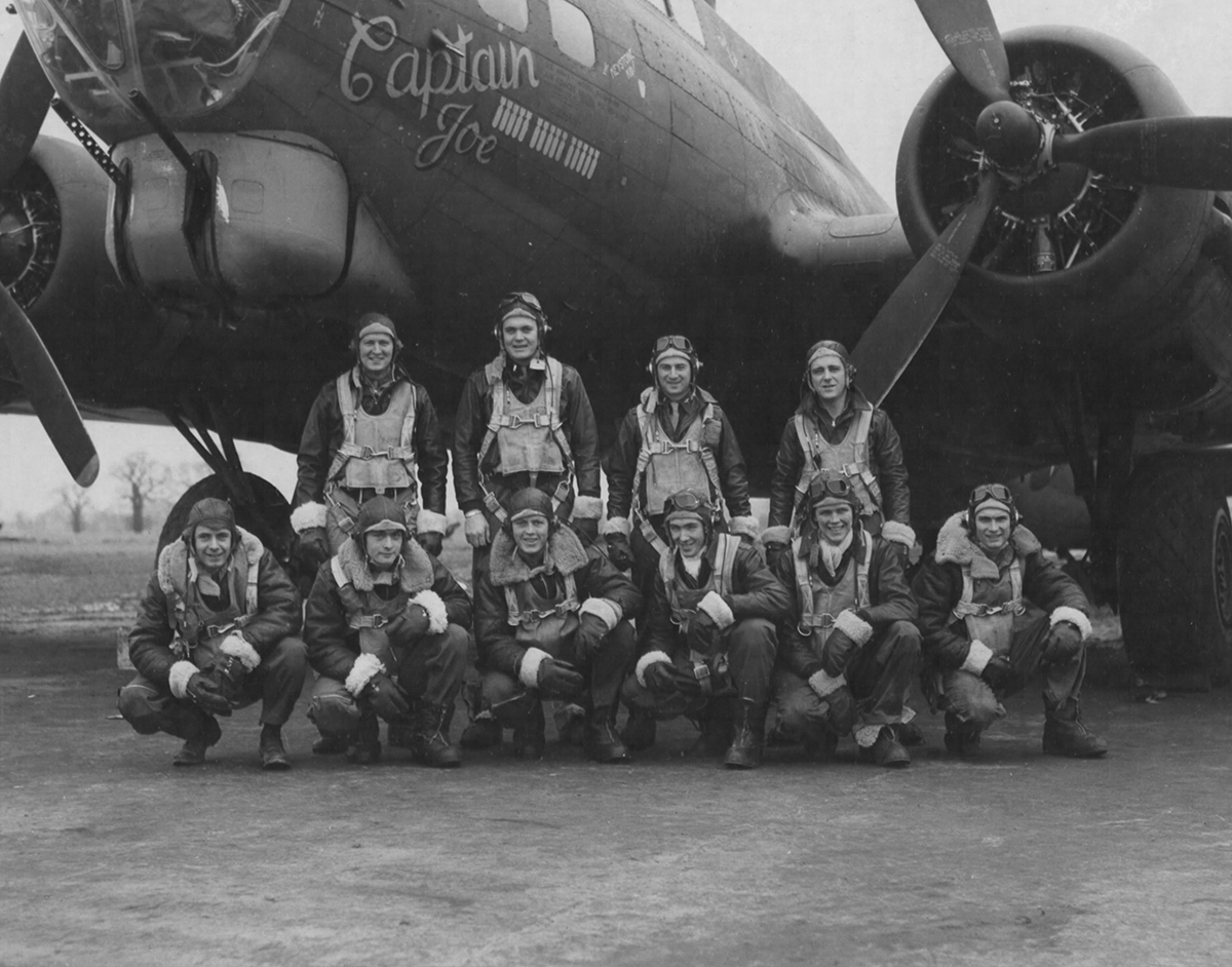 B-17 #42-31153 / Boomerang aka Captain Joe