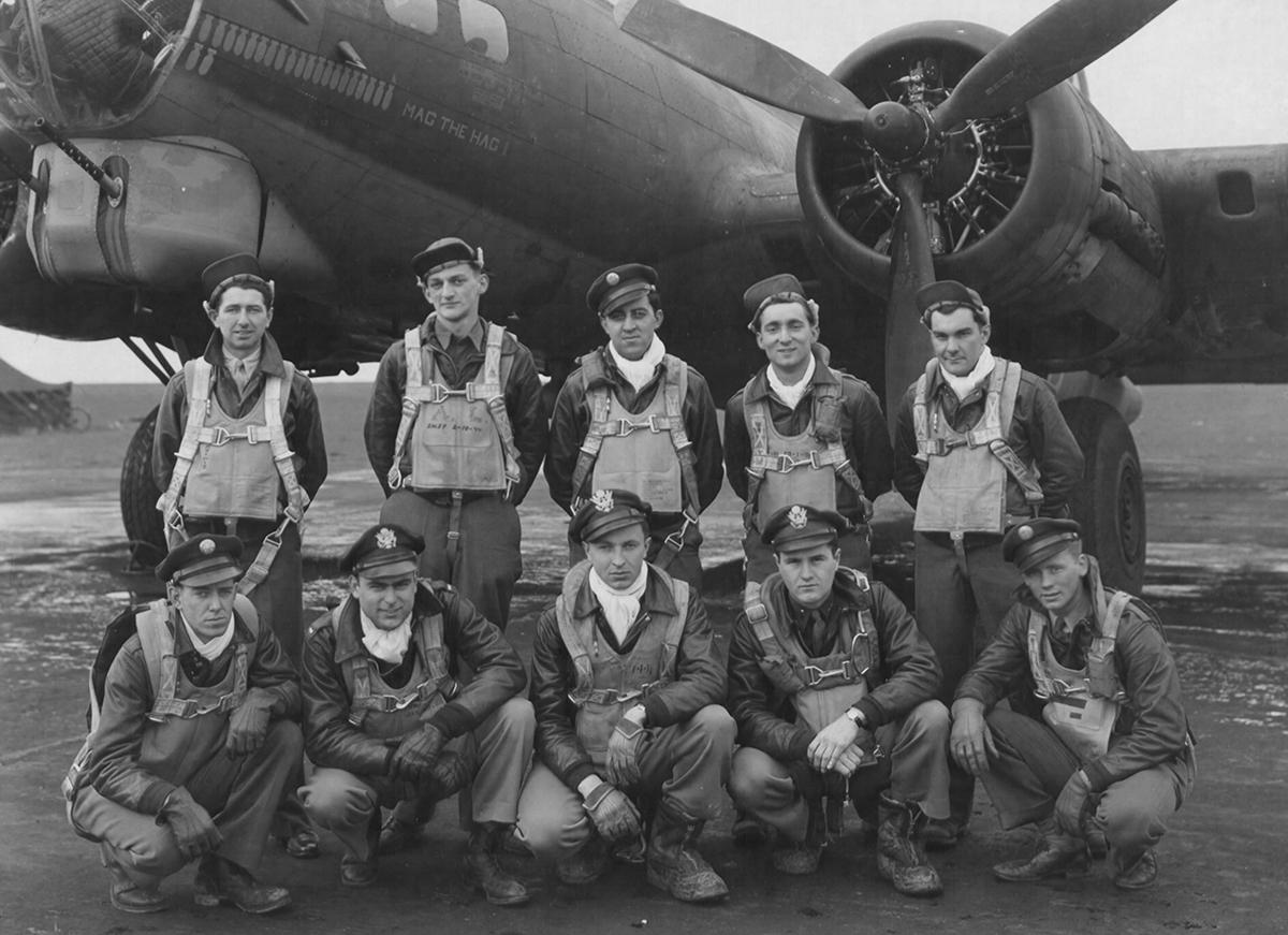 B-17 #42-31250 / Mag The Hag II
