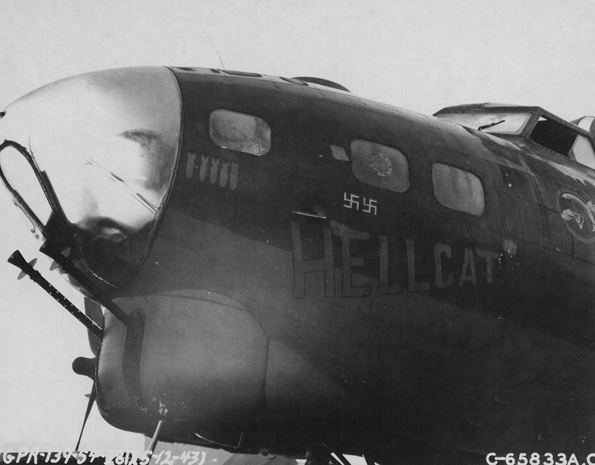 B-17 #42-37719 / Hellcat