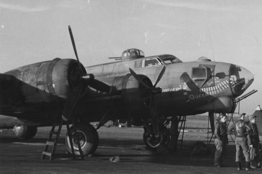 B-17 #42-39801 / Double Trouble II aka Northern Queen
