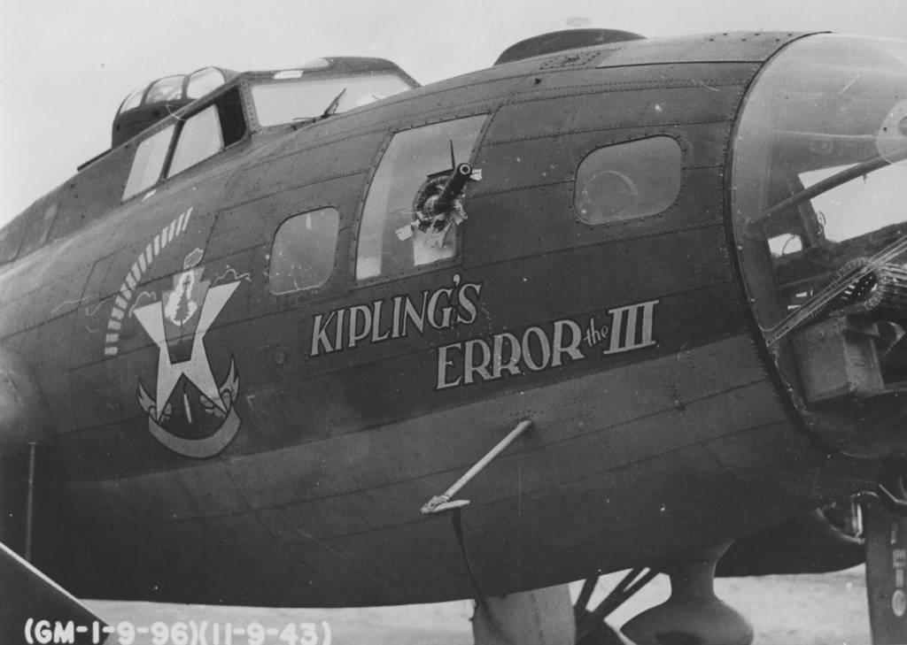 B-17 #42-5885 'Kipling's Error the III'