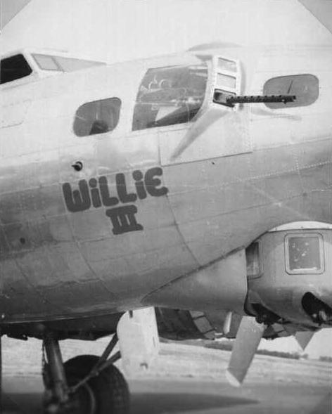 B-17 #43-37567 / Willie III