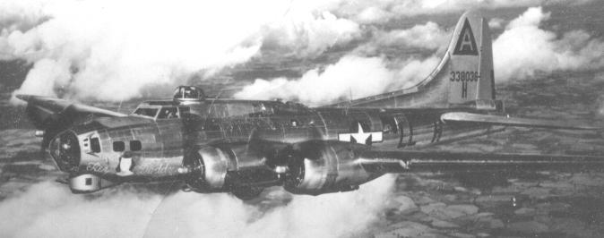 B-17 #43-38036 'Hey Daddy'