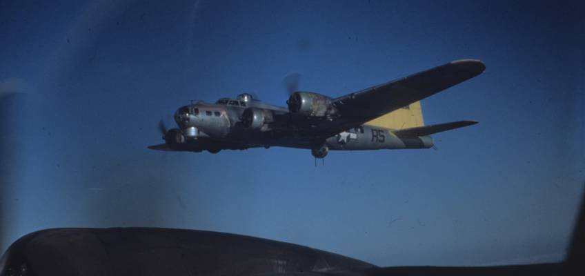Boeing B-17 #44-8134 / Our Baby
