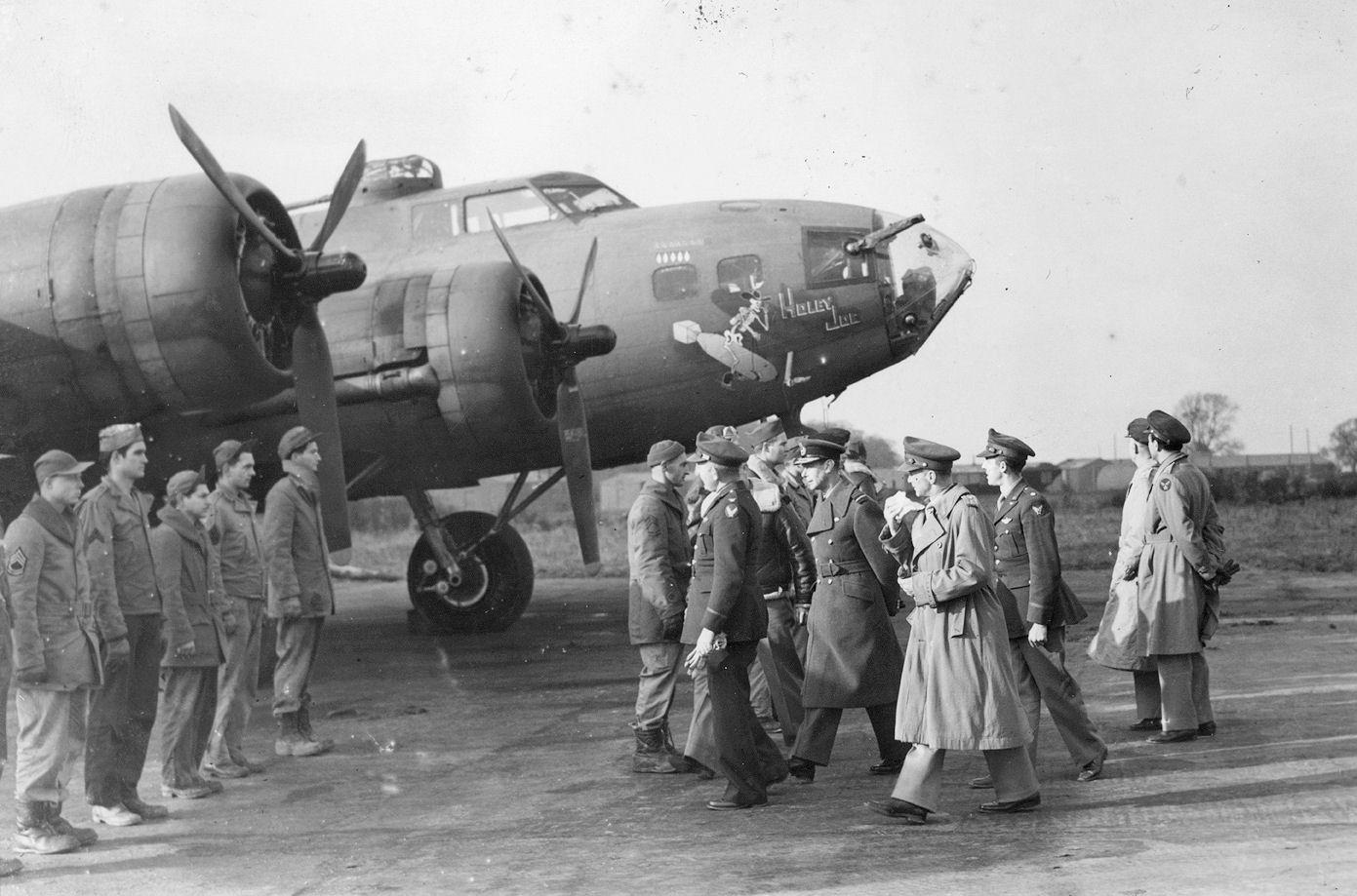 B-17 #41-24352 / Holey Joe