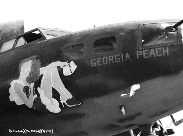 B-17 #41-24454 / Georgia Peach