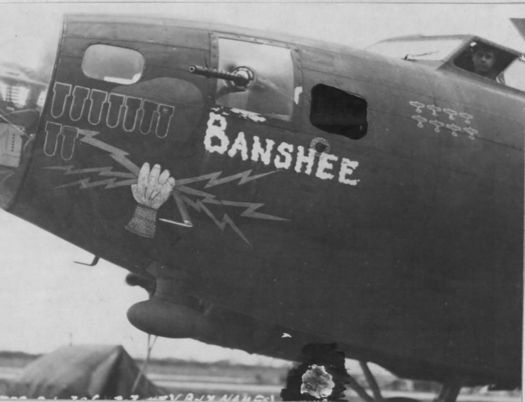 B-17 #41-24488 / Banshee