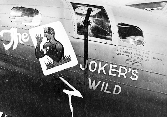 B-17 #41-24521 / Black Jack aka The Joker's Wild
