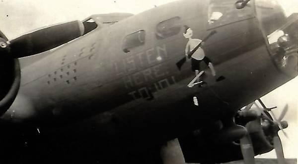 B-17 #41-24552 / Listen Here Tojo!